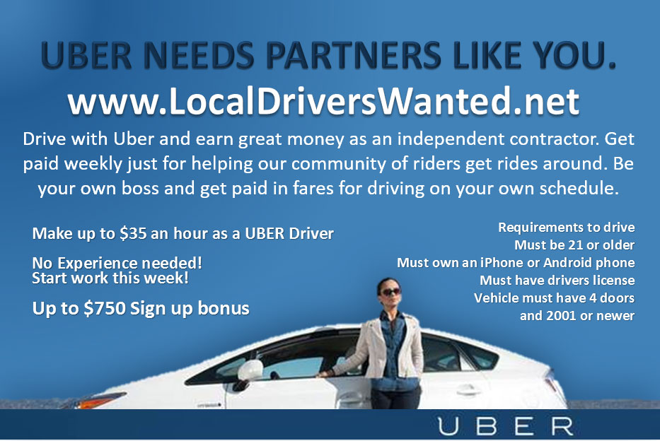 Trade Agent - Local Drivers Wanted